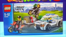 Police Car Toys Lego For Kids LEGO City 60042 High Speed Police Chase ★ Policía Juguetes Videos-X3