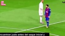 La discussion entre Cristiano Ronaldo et Lionel Messi lors du Clasico