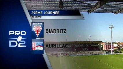 J29 - Réactions de Romain Briatte après le match à Biarritz - Saison 2016-2017