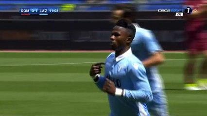 Balde Keita Goal HD - AS Roma 0-1 Lazio - 30.04.2017