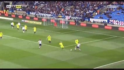 Jem Karacan Goal HD - Bolton 1-0 Peterborough - 30.04.2017