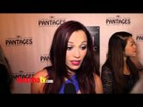"""Jessica Sutta Interview at """"Jekyll & Hyde"""" Los Angeles Play Opening Red Carpet ARRIVALS"""