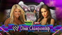 WWE RAW Melina vs Kelly Kelly (Melina last match)
