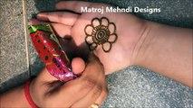 very easy simple mehndi henna designs for hands for kids_mehndi designs tutorials