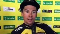 """Tour de Romandie 2017 - Primoz Roglic : """"Je ne sais pas si je vole sur le vélo comme je volais à saut à ski"""""""