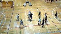 福岡第一vs延岡学園(1Q)高校バスケ 2016 KAZU CUP決勝