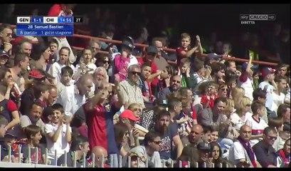 All Goals & Highlights HD - Genoa 1-2 Chievo - 30.04.2017