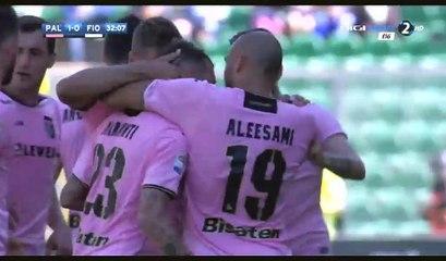 All Goals & Highlights HD - Palermo 2-0 Fiorentina - 30.04.2017