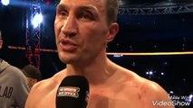 WLADIMIR KLITSCHKO POST FIGHT INTERVIEW AFTER LOSS vs ANTHONY JOSHUA 29_04_2017