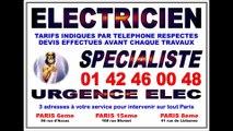 ÉLECTRICITÉ PARIS 14eme - DÉPANNAGE URGENT IMMÉDIAT - MAÎTRE ARTISAN ÉLECTRICIEN AGRÉÉ 75014 PARIS