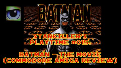 Batman - The Movie (Commodore Amiga Review) - starkiller's Playtime #015