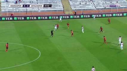 Deniz Kadah Goal HD - Adanaspor AS 0-1 Antalyaspor - 30.04.2017