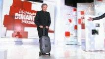 Vivement Dimanche : Michel Drucker fait de la valise-trottinette sur son plateau (vidéo)