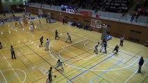 市立船橋vs延岡学園(4Q)高校バスケ 2014 KAZUCUP