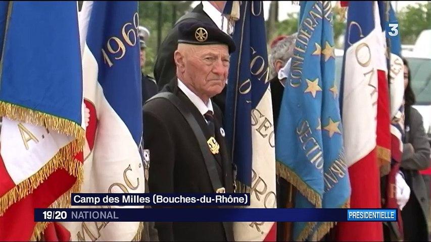 Présidentielle : Emmanuel Macron se rend au Mémorial de la Shoah