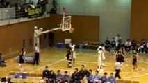 福岡第一vs延岡学園(3Q)高校バスケ 「KAZU CUP 2012」決勝
