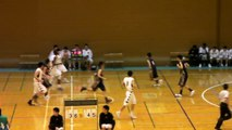 延岡学園vs沼津中央(3Q)高校バスケ 「KAZU CUP 2012」準決勝