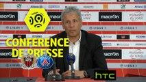 Conférence de presse OGC Nice - Paris Saint-Germain (3-1) : Lucien FAVRE (OGCN) - Unai EMERY (PARIS) - Ligue 1 / 2016-17