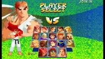 Street Fighter Alpha 2(Zero 2) Expert difficulty Ryu (720p)
