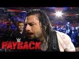 Roman Reigns vs Braun Strowman Full Match - WWE Payback 2017
