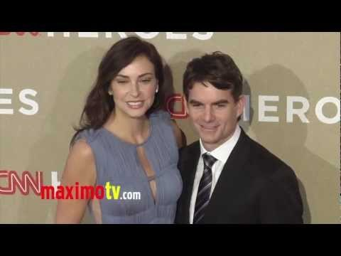 Jeff Gordon and Wife Ingrid Vandebosch at CNN Heroes: An All-Star Tribute 2012 Red Carpet Arrivals