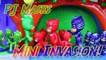 PJ Masks Duplicates Romeo Evil Minis Army Attacks PJ Mask Headquarters with Blind Bag Figurines-73hqLLWE3