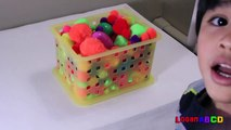 learn numbers 1-10 surprise eggs , fridge number magnets and colorful pompoms-7Kzz8