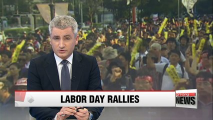 Workers across Korea to join Labor Day rallies