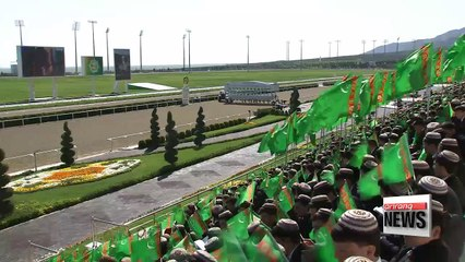 Turkmenistan celebrates