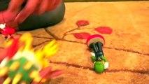 Super Mario Bros ATTACK! - Spiderman vs Joker - Mario, Luigi, King Bowser Koopa, Frozen Elsa-eNRT