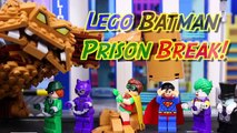 Lego Batman Movie Superman Fights Clayface Arrests Joker with Penguin Catwoman Riddler Rescues Robin-DVrizv