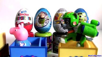 MASHEMS Toys Batman Joker Transformers Kinder Cars Toy Story Woody Monsters Inc. Huevos Sorpresa-Rnr0ntPP