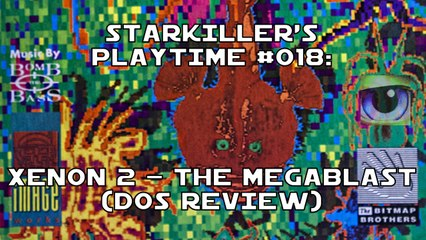 Xenon II - The Megablast (DOS Review) - starkiller's Playtime #018
