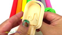 Learn Colors Play Doh Modelling Clay Popsicle Ice Cream Pororo Paw Patrol Microwave Surprise Toys-Uugfmq