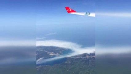Yavuz Sultan Selim Köprüsü Cumhurbaşkanı Erdoğan'ın Uçağından Böyle Görüntülendi