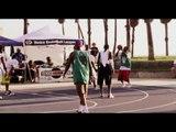 Elie Seckbach Playing Basketball With Slam Dunk Contest Winners - esnews