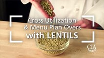 Cross Utilization and Menu Plan Overs with Lentils - Lentil and Bulgur Pilaf-0PQfqt