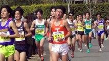 【頑張れ中大】立川ハーフ(日本学生ハーフ)マラソン ゴール手前 2016.3.6