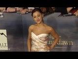 "Ariana Grande TWILIGHT ""Breaking Dawn Part 2"" Premiere ARRIVALS"