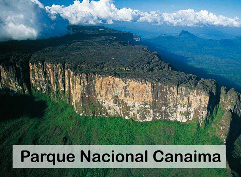 Francisco Rangel Gomez - Sitios turísticos del Estado Bolívar