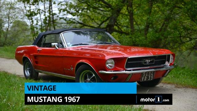 À l'ancienne #1 - Mustang 1967
