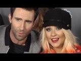"Christina Aguilera, Adam Levine, Cee Lo, Blake Shelton ""The Voice"" Season 3 Red Carpet"