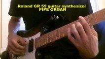 BLUE MONK (Theme) Thelonious Monk by DANIEL NODARI GR 55 Guitar Synthesizer - Pipe organ