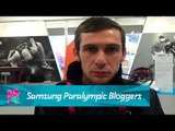 Michael McKillop - My first blog, Paralympics 2012