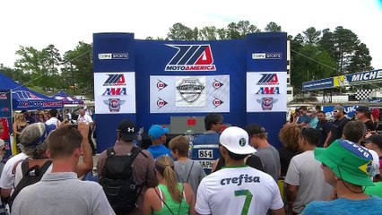 Superbike Race 2 Road Atlanta Interviews and Highlights