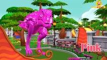 T-Rex Dinosaurs Eggs Colors Song | Bingo Nursery Rhymes | Mega Dinosaurs Finger Family | Baby Rhymes