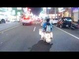 Taiwan Night Ride in NEW CITY - ChaiYi City