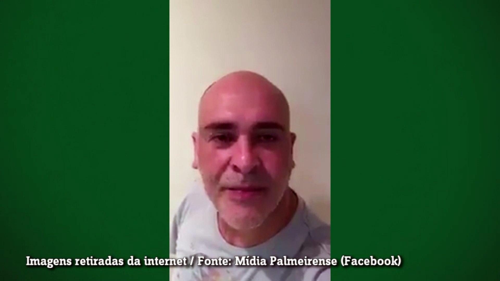 Marcos comenta soco de Felipe Melo: 'O uruguaio que pôs a cara na mão dele'