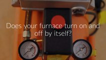 Furnace Cycling On and Off - Flame Sensor Cleaning - Furnace