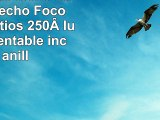 Foco LED de techo  Lámpara de techo  Foco  GU10  3vatios  250lúmenes  orientable